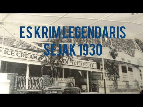 Ice Cream Zangrandi Surabaya Sejak 1930