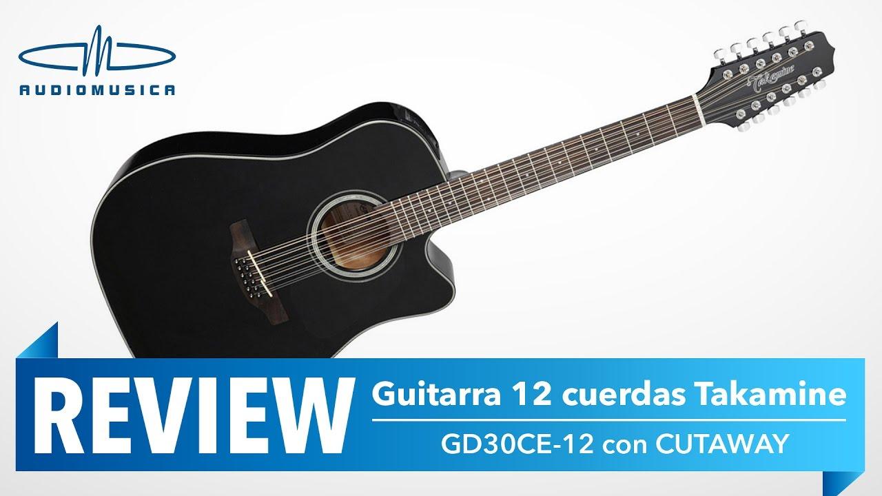 review guitarra electroac stica gd30ce 12 takamine youtube. Black Bedroom Furniture Sets. Home Design Ideas
