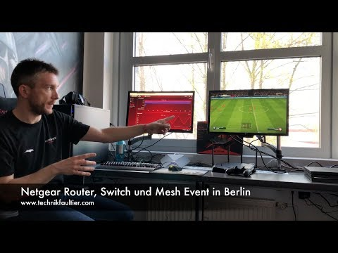 Netgear Router, Switch und Mesh Event in Berlin