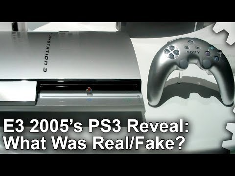 DF Retro Extra: PS3 Reveal At E3 2005: What Was Faked? What Was Real?