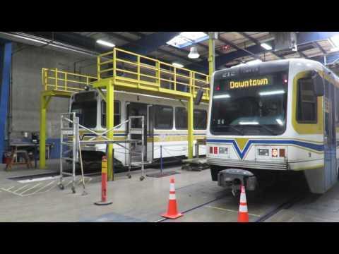 Motor Bus Society 2016 Fall Convention Sacramento, CA  Sacramento Regional Trainsit Light Rail Facil