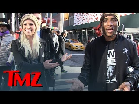 Tomi Lahren & Charlamagne Tha God Spotted in Times Square