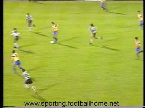 Sporting - 3 x Estoril - 0 de 1991/1992 M/F Taça de Honra AFL