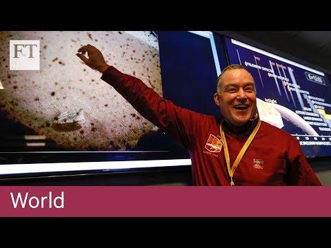 Nasa celebrates InSight probe landing on Mars