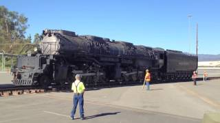 UP 4014 Big Boy Rolling at Pomona, CA