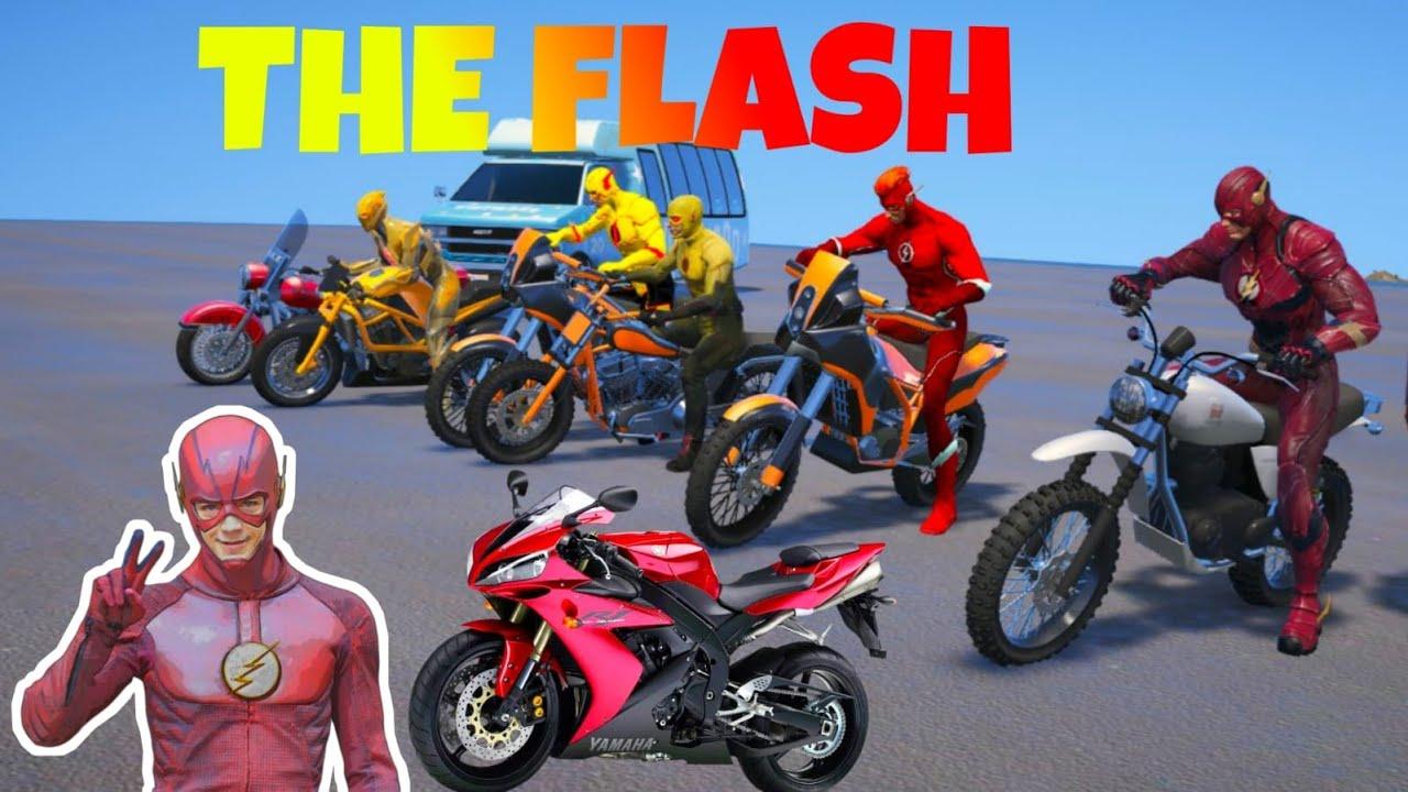 Download FLASH en GTA 5'' Grand Theft Auto V - GTA V Mods TODOS LOS FLASH