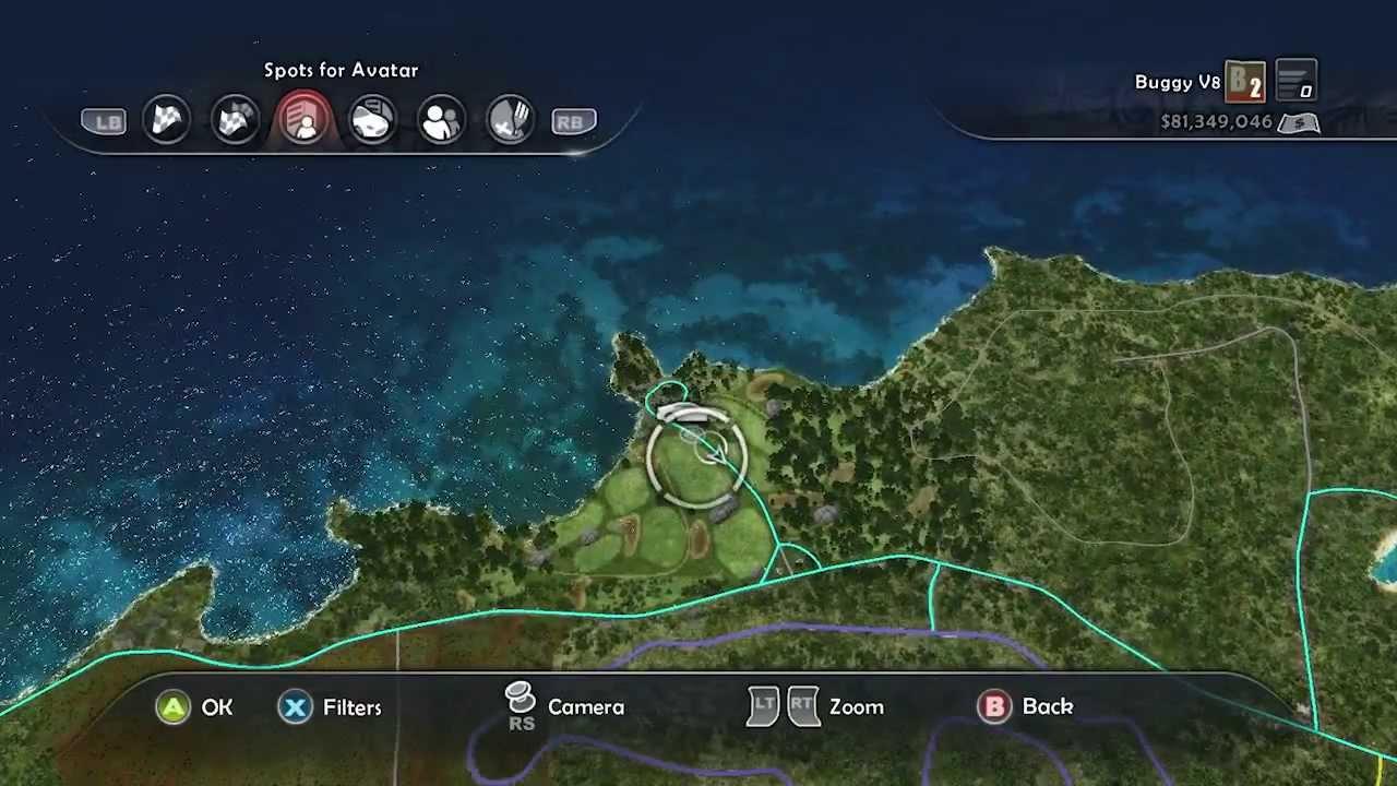 TDU2 / Wreck Locations / Hawaii Area 1