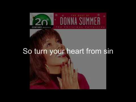 Donna Summer - Christmas Spirit LYRICS - Remastered