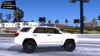 Toyota 4runner Grand Theft Auto San Andreas GTA SA MOD