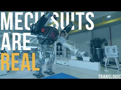 Driving An Actual Bipedal Mech Suit | Translogic 221