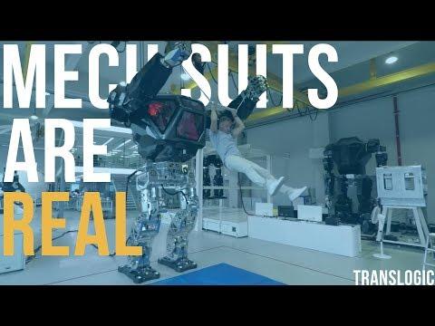 Driving An Actual Bipedal Mech Suit | Translogic 221