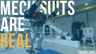 Driving An Actual Bipedal Mech Suit | Translogic 221 thumbnail
