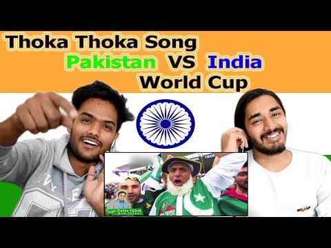 Indian reaction on Thoka Thoka song for Pakistan Cricket Team | Swaggy d thumbnail