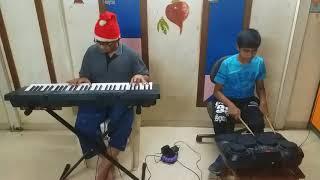 Despacito cover played by (Drum) Piyush (Keyboard) Aditya.