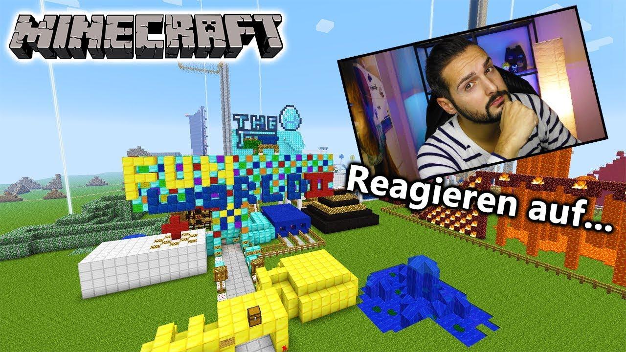 Kaan Reagiert Auf Fun World 2 Freizeitpark Bei Minecraft Minecraft