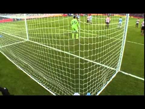 Yaya Toure goal vs Sunderland capital one cup