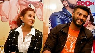 Namaste England stars Arjun Kapoor & Parineeti Chopra talk about their on-screen chemistry & more