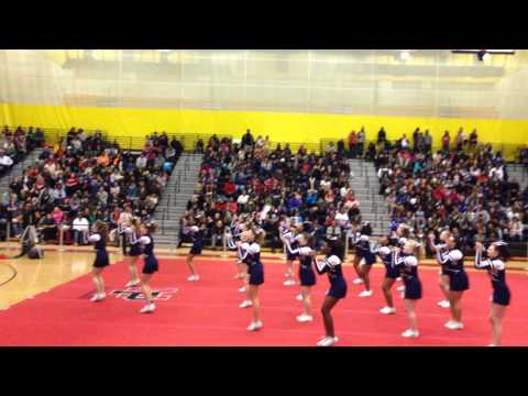 La Plata High School Cheerleading Competition-2014