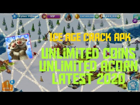 Ice Age Village※Mod※Unlimited Acorn And Coins※2020