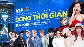 countdown party 2017  dong thoi gian