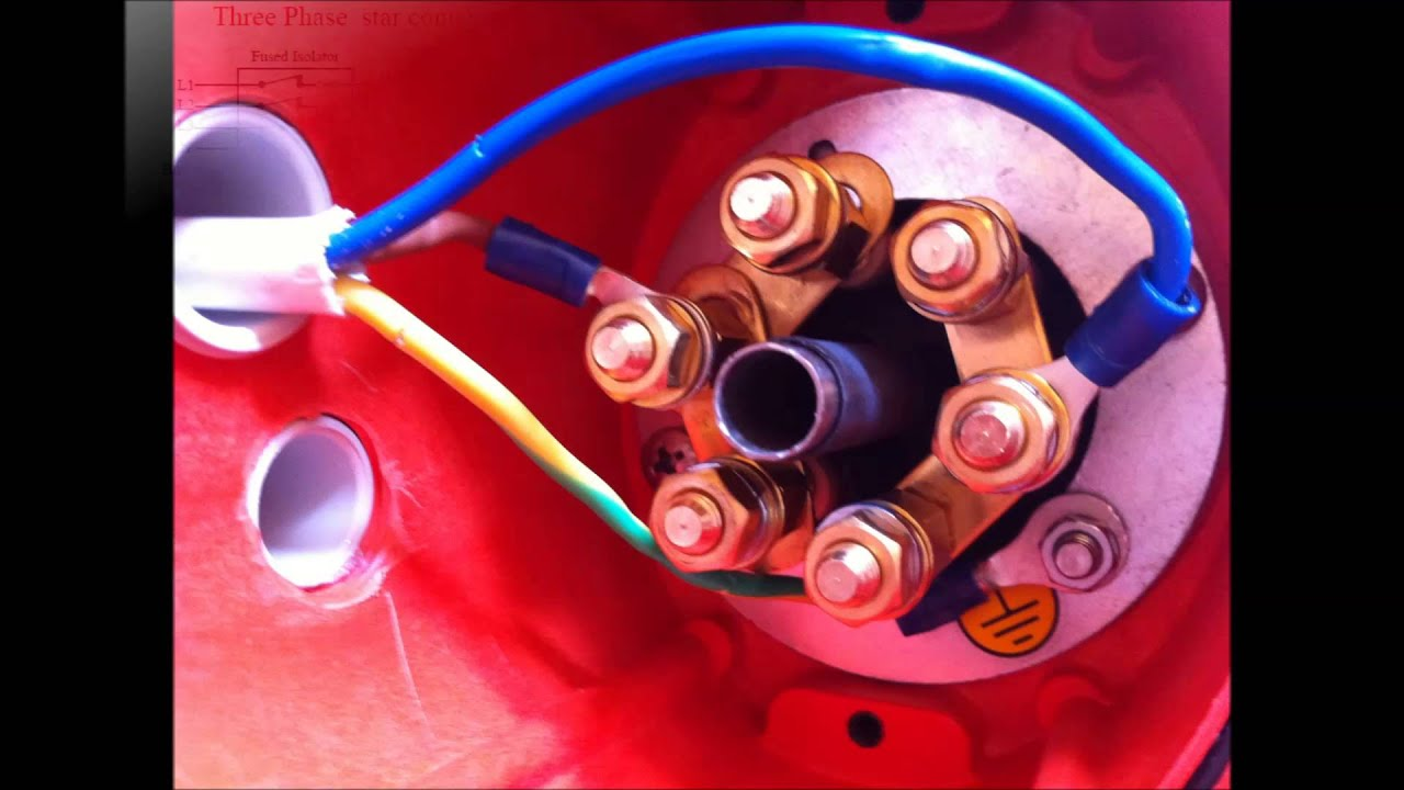 Wiring an immersion heater  YouTube
