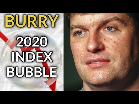 Michael Burry Predicts Another Market Crash. The Index Fund Bubble Explained.