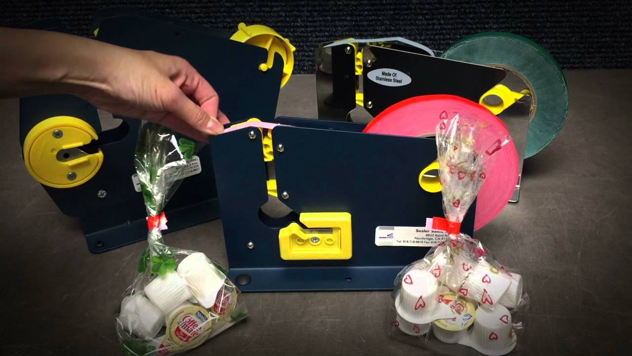 Plastic bag tape sealer - Sealer Sales Bag Tape Sealer
