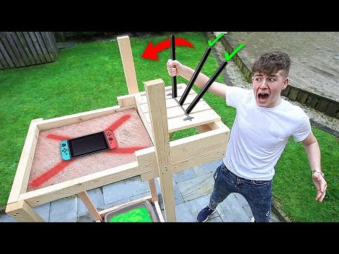DONT Activate the Wrong Trap Door Lever ($$$ MYSTERY ITEMS!!!) - CHALLENGE