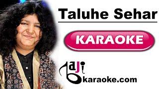 Talu e sehar hai shame qalandar - karaoke - Abida Parveen - Saraiki by BAJI KARAOKE Pakistani
