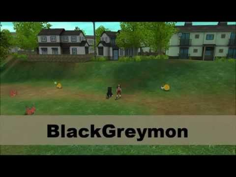 Digimon Masters Online - BlackAgumon - all evolutions and attacks