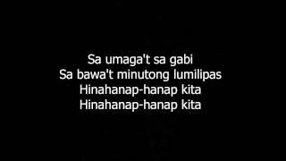 Hinahanap hanap Kita Daniel Padilla Lyrics