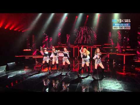 101219 SBS Inkigayo KARA Jumping
