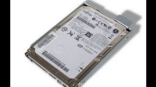 How To Replace a Sony Vaio Hdd   (Hard drive) (Model VGN-NS10J)