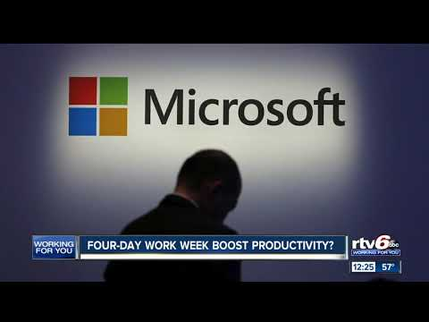 Deuce - Microsoft Tested 4 Day Work Week, Productivity Went Up 40%
