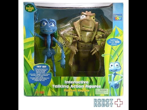 A Bug's Life Flik and Hopper interactive Disney Pixar