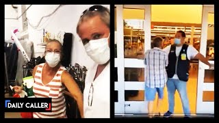 Customer Threatens Employee Over Masks