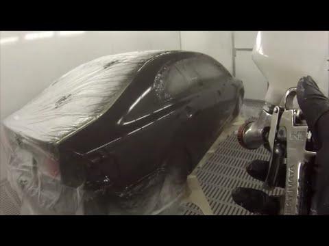 Honda Civic Nighthawk Black Pearl Clear over base