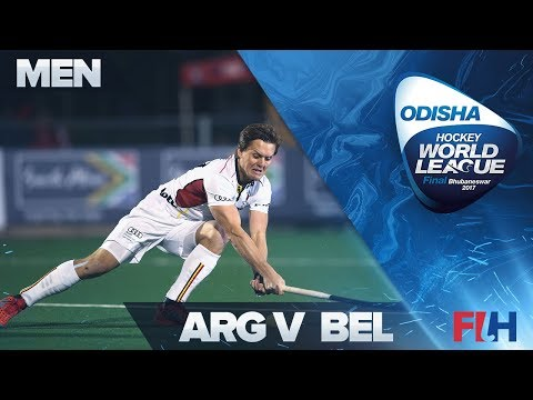 Argentina v Belgium - Odisha Men's Hockey World League Final