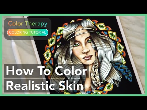 How To Draw And Color Realistic Skin Using Advanced Airbrush Tool With Therapy App