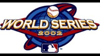 World Series Baseball - Xbox 2002 (2002 World Series ANA vs SF)