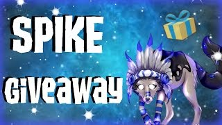 Animal Jam Spike Giveaway   2016 ( Closed )