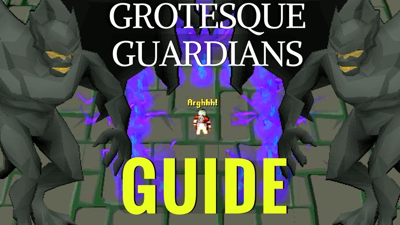 OSRS Boss - Grotesque Guardians Guides - OSRS Best in Slot
