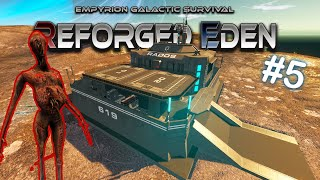 THE ABANDONED DEPOT WITH T1 WEAPONS!   Reforged Eden   Empyrion Galactic Survival   #5
