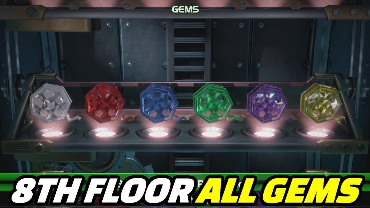 Luigi's Mansion 3   Floor 8 All Gems