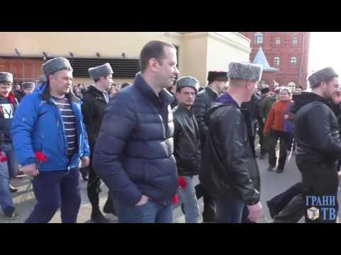 Похороны погибших россиян в авиакатастрофе в Египте. Видео