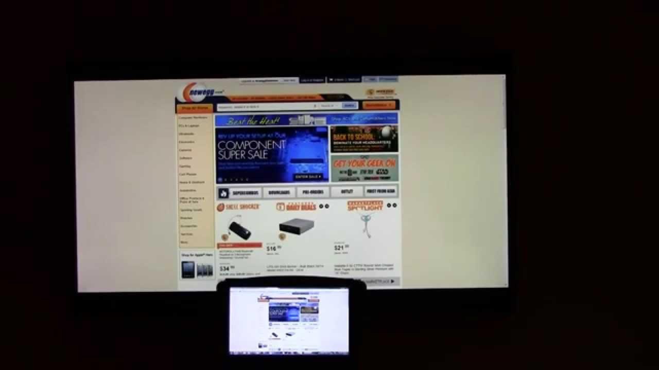 Chromecast Web Browser