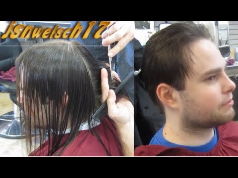 Mens Taper Haircut Long To Short Mens Taper Haircut Mens