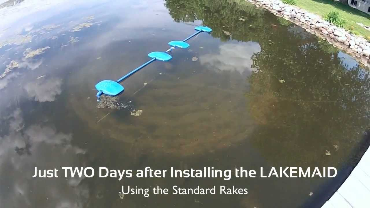 Lake Weed And Silt Removal