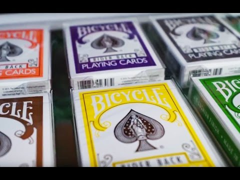 Bicycle Color Collection - Playing Cards - Magicland.se