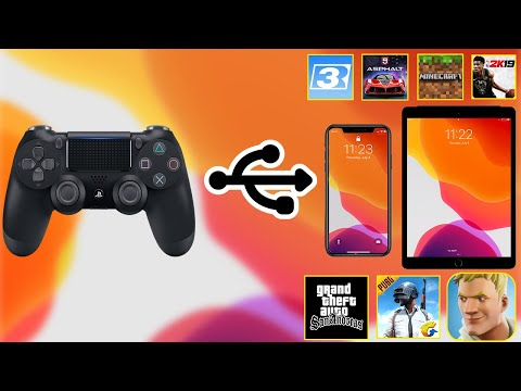How to connect PS4 Controller to iPhone & iPad in iOS 13! (Fornite, PUBG, GTA, NBA 2K, Minecraft...)